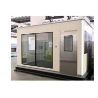 Buy cheap Fireproof Sandwich Panels Softwall Clean Booth With Steel Airtight Door product