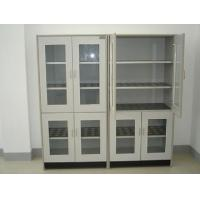 Quality Utensil Cupboard Steel Lab Casework , Two Door File Cabinet With Slide Door for sale