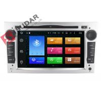 Buy cheap Silver Panel Opel Corsa Dvd Player , Android Bluetooth Car Stereo With Google Maps product