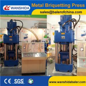 Buy cheap China Wanshida Good Quality Scrap Copper Aluminum Steel Chips Sawdust Briquetting Presses product