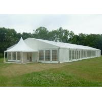 Buy cheap 15 X 50 Canvas Wedding Party Tent Flame Retardant Hard Plastic ABS Wall product