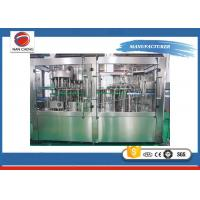 Buy cheap Full Automatic Complete Pet Bottle Auto Water Filling Machine 18-18-6 6000-8000bph product