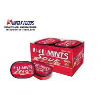 China Xylitol Cool Fresh Sugar Free Lozenges Shape Customized With One / Double Layers on sale