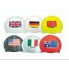 Buy cheap national flag swim cap from wholesalers