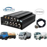 Buy cheap AHD 720P 960P HDD SD card 3G Mobile DVR / MDVR 4 channel dvr integrate with Oil Sensor product
