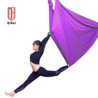 China Anti Gravity Air Yoga Hammock Kit Multi Color Comfortable Touch Feeling on sale