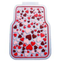 Buy cheap Rubber Latex Pure Material Universal Car Mat With Pink Lovely Pattern product
