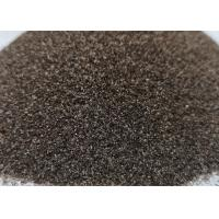 Buy cheap High Density Sandblasting Abrasive Material Air Cleaned F36 F80 Brown Fused Alumina product