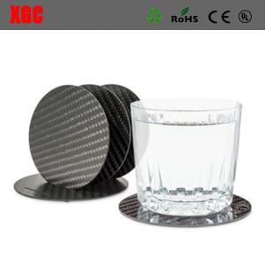 Buy cheap Top Quality Common Fibers Carbon Fiber Coaster Set product