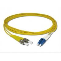 Buy cheap Duplex ST to LC Fiber Optic Patch Cord 9 / 125 μm Singlemode for Telecommunication product