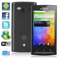 China 3.5 Inch Unlocked Android Dual Sim Smartphone With GPS Wifi Analog TV, Bluetooth A2DP on sale