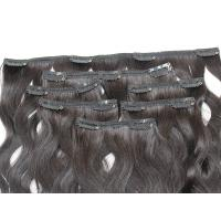 Buy cheap Comb Easily Clip In Natural Hair Extensions , 8A Blonde Clip In Hair Extensions product