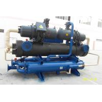 China Bitzer Compressor Water Cooled Screw Chiller 120KW 7 Degree Outlet Water on sale