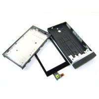 Buy cheap for Sony Xperia U ST25i black   Touch Screen Digitizer and Cover Housing product