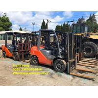 Buy cheap 8fd30 Second Hand Toyota Forklift 3 Ton 3000 Kg Rated Loading Capacity product