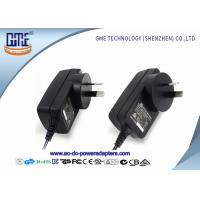 Buy cheap Portable Electrical Wall Mount Power Adapter 12V 2A For CCTV Camera , RCM ROHS product