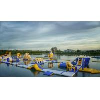 Buy cheap BALI Giant Inflatable Floating Water Parks Manufacturer / Bouncia Aqua Park product