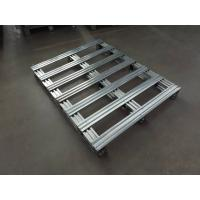 Buy cheap Fireproof Euro 6063 T4 T5 Aluminum Pallets GB , JIS , AAMA Standard 1200x2000 from wholesalers