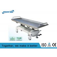 Buy cheap Hydraulic Electric Patient Transfer Trolley Removable Stainless Steel Top product