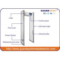 6.12 Zones Hotel Police Prison Airport Security Metal Detector For Checkin With Sound And LED Alarm