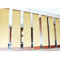Buy cheap Multe Color Soundproof Movable Partition Wall For Meeting Room 600 / 1230mm Width product