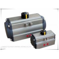 China Butterfly valve pneumatic actuator with dual piston rack and pinion on sale