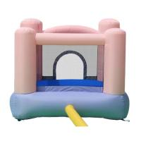 Buy cheap Pink color indoor Inflatable jumps bouncers and Commercial jumping castle for sale from wholesalers