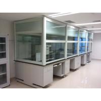 Buy cheap Durable Table Type Laboratory Fume Hood , Suitable For Central Station Fume Hood product