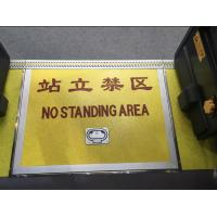 Folding / Single Plate Removable Handicap Ramp With Independent / Wholly Manual Operation