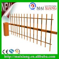 Buy cheap 2mm Cold Rolled Steel Sheet Boom Barrier With 3 Fence Boom Barrier product