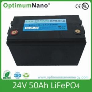 China lifepo4 battery pack 24v 50ah for UPS,solar light, street light on sale