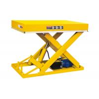 Buy cheap Fixed Stationary Scissor Lift Table 1 Ton Industrial Use Smooth Operation product