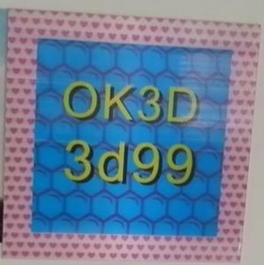 Buy cheap OK3D hot sales fly-eye lens 3d photo frame 3d fly eye photo frames,dot lenticular frames,3d fly eye photo frames prints product