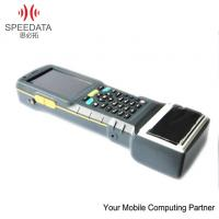 Buy cheap Waterproof Mobile Thermal Printer Android 4.0 Hand Barcode Scanner , Phone Call Function product