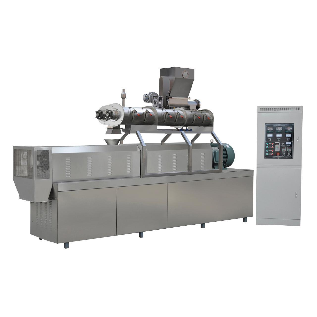 Buy cheap 900kg/h twin screw extruder South Korea fish feed pellet machine price product