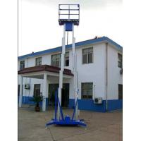 Buy cheap Manual battery mobile Aluminum alloy hydraulic lifting platform for direct sailing product