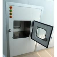 Buy cheap Medical Cleanroom Pass Through Chambers With SS Hinges 0.75kw 380V product