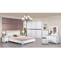 Buy cheap Turkish Moslem High Gloss Bedroom Furniture Wardrobes Khaki Color With 2.7 Meter Length product