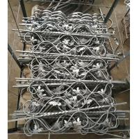China Wrought Iron Elements/ Ornaments/parts  for balusters and gates decorative -- Cast iron scroll C or S on sale