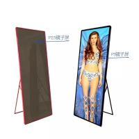 Buy cheap Indoor Custom LED Display P2.5 P3 Full Color Poster Screen 1500 Nits Brightness product