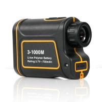Buy cheap Portable 8X 24mm 3-1000m Laser Range Finder Distance Meter Telescope for Golf, Hunting , Outdoor Activity and ect. from wholesalers
