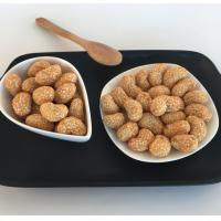 Buy cheap OEM Crispy Sesame Coated Roasted Cashews Snacks No Food Color from wholesalers