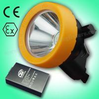 China Efficient KL5LM Portable LED Mining Cap Lamp 15000lux 3.7V , Low Power Indication on sale