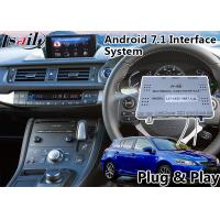 Buy cheap Android 7.1 Navigation Video Interface for 2016-2018 Lexus Knob Control CT 200h support Headrest product