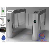 China Bi directional waist high automatic swing gate Access Control System on sale