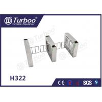 China Access Control Pedestrian Barrier Gate With Voice And Strobe Light Alerts on sale