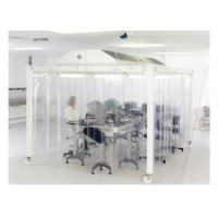 Buy cheap EBM Fan Lab Modular Softwall Cleanroom / Hospital Class 10000 Clean Room product