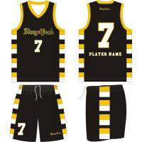 Custom Reversible Basketball Uniform Basketball Jerseys Black Basketball Wear