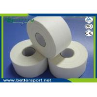Buy cheap 3.8cm White colour Latex free zinc oxide athletic Rigid Rayon Tape Porous Sports strapping Taping product