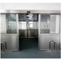 Movable Hospital Dust Air Shower Tunnel Two Side Blowing , High Speed 25m/s